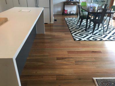 modern timber floor