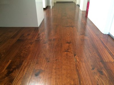 existing hardwood timber floor
