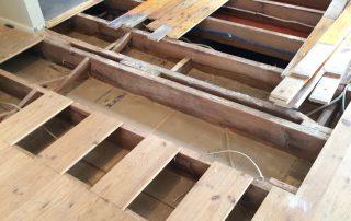 timber floor repair before