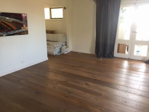 wide oak timber floor image
